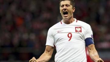Хет-трик Левандовского приносит полякам победу над Данией
