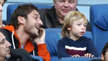 Тотти: «Мой сын хорош, но не так хорош, как я в его годы»