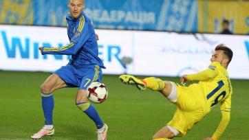 Сборная Украины прервала безвыигрышную серию, взяв верх над сборной Косово