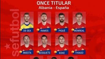 Албания – Испания, прямая онлайн-трансляция. Стартовый состав испанской сборной