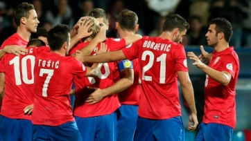 Сборная Сербии вырвала победу у австрийцев