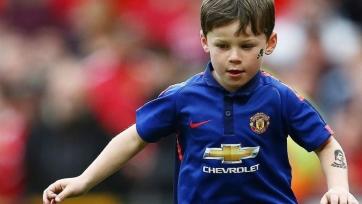 Сын Руни стал игроком детской команды «красных дьяволов»