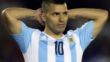 Агуэро получил повреждение в расположении сборной Аргентины