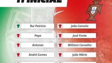 Фареры – Португалия, прямая онлайн-трансляция. Стартовый состав чемпионов Европы