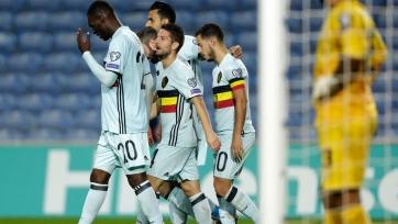 Бельгийцы унизили Гибралтар, забив шесть мячей