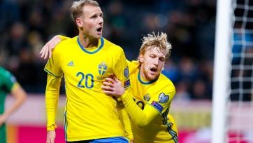 Шведы разгромили сборную Болгарии
