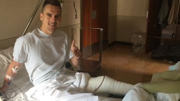 Лечащий Милика врач заявил, что польский игрок восстановится через три месяца