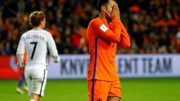 Сборная Нидерландов проиграла в квалификации ЧМ впервые с 2001-го года