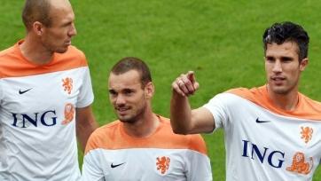 Сборная Нидерландов впервые с 2002-го года сыграла без Роббена, Снейдера, ван Перси или ван дер Ваарта