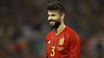 Федерация футбола Испании попытается отговорить Пике завершать карьеру в сборной
