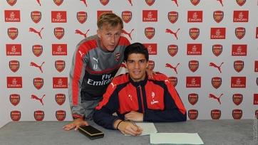 «Арсенал» заключил соглашение с 17-летним голкипером