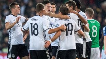 Германия без проблем переиграла Северную Ирландию