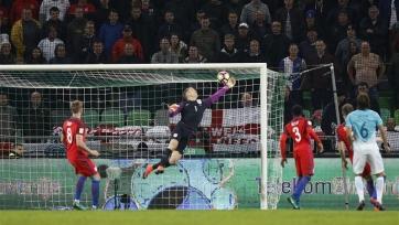 Словения и Англия голами не порадовали