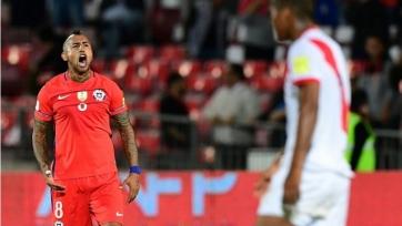Дубль Видаля принёс Чили победу над сборной Перу