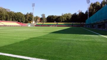 В Литве во время матча ЧМ обрушилась одна из трибун