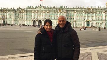 Санкт-Петербург сделал Зидана послом гостеприимства