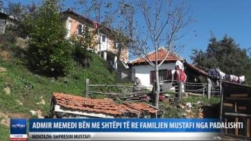 Адмир Мехмеди подарил дом малоимущей семье из Македонии