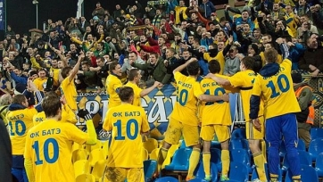 БАТЭ 11-й раз кряду выиграл чемпионат Беларуси