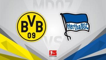 «Боруссия» Дортмунд – «Герта», прямая онлайн-трансляция. Стартовые составы команд