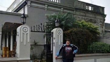 Мауро Икарди подарил своей семье роскошный дом в Росарио