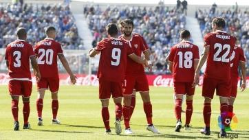 «Севилья» в драматичном поединке переиграла «Леганес»
