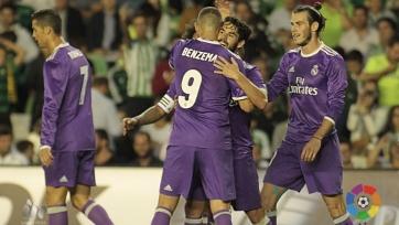 «Реал» крупно обыграл на выезде «Бетис»