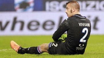 Голкипер «Сампдории» Вивиано отразил 5 из 11 пенальти с августа 2015-го