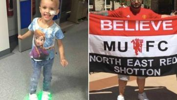 Болельщик «МЮ» сделал тату в виде герба «Ливерпуля», что собрать деньги на лечение дочери друга