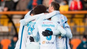 «Зенит» одержал уверенную победу в матче с «Уралом»