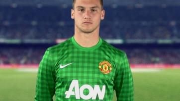 «Манчестер Юнайтед» подписал новый контракт с третьим голкипером команды