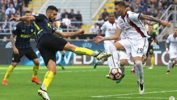 Автогол Хандановича лишил «Интер» очков в матче с «Кальяри»