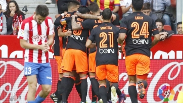 «Валенсия» обыграла в Хихоне местный «Спортинг»