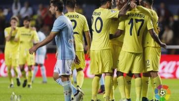«Вильярреал» забил пять безответных голов «Сельте»