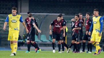 «Милан» оставил не у дел «Кьево», поднявшись в зону ЛЧ