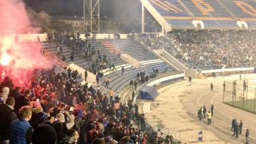 «Динамо» заверило, что виновные в беспорядках на матче с «Факелом» будут наказаны