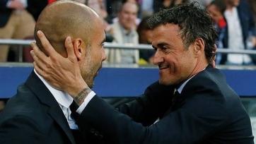 Энрике: «Гвардиола – лучший тренер на планете»