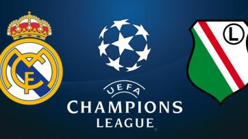 «Реал» - «Легия», прямая онлайн-трансляция. Стартовые составы команд