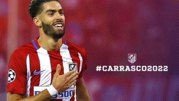Карраско пролонгировал договор с «Атлетико»