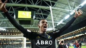 Английские клубы следят за 17-летним шведским форвардом