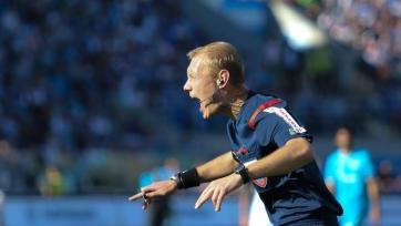 Москалёв получил неудовлетворительную оценку за свою работу на матче «Анжи» - «Зенит»