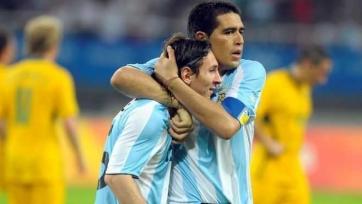 Рикельме: «Месси – уникальный футболист, без него аргентинская сборная осиротеет»