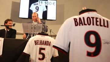 «Ницца» продаёт через аукцион футболку Балотелли, для того, чтобы помочь жертвам теракта 14-го июля