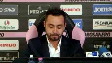 Дзампарини: «Де Зерби до сих пор не осознал, что Серия А – не Серия С»