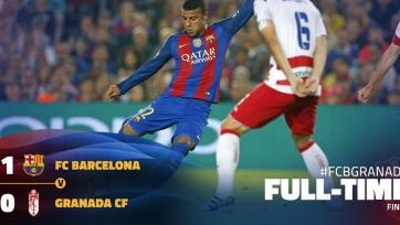 «Барселона» одержала минимальную победу над «Гранадой»