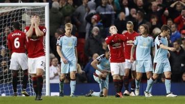 «Манчестер Юнайтед» поставил клубный рекорд по количеству ударов в одном матче