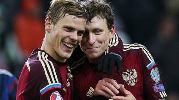 Кокорин и Мамаев получили 30 миллионов рублей от РФС за выход сборной России на Евро-2016