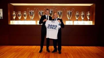 Бэйл: «Счастлив продлить договор с «Реалом»