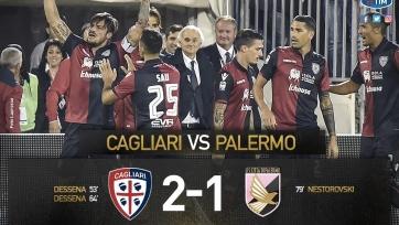 «Кальяри» переиграл «Палермо» за счёт дубля Дессены