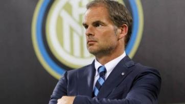 «Интер» уволил Франка де Бура с поста главного тренера
