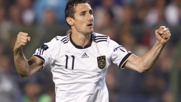 Клозе пополнил ряды тренерского штаба сборной Германии